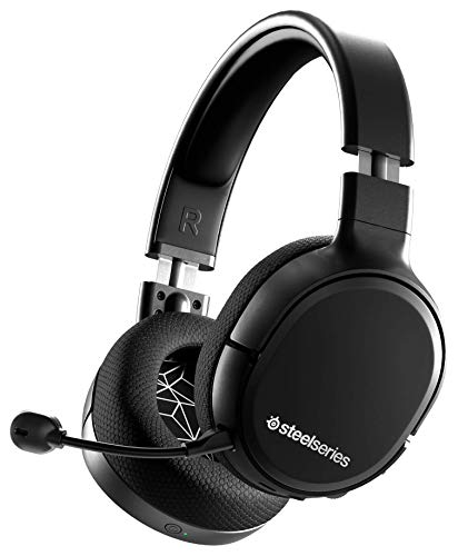 SteelSeries Arctis 1 Wireless – Auriculares inalámbricos para juegos – USB-C Inalámbrico – PC / PS5 / PS4 / Nintendo Switch / Android – Negro