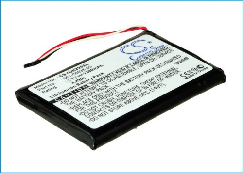 Rechargeable Battery 1200mAh For Garmin Nuvi 2455LT, Nuvi 2555LT, Nuvi 2475LT, Nuvi 2595LMT, Nuvi 2555LMT