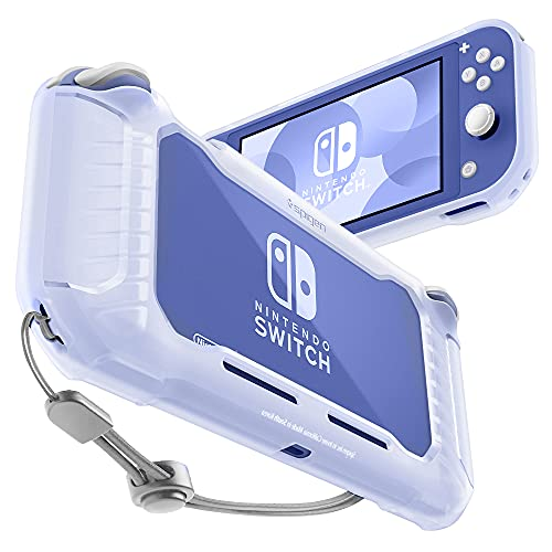 Spigen Rugged Armor Compatible con Nintendo Switch Lite Funda - Frost Clear