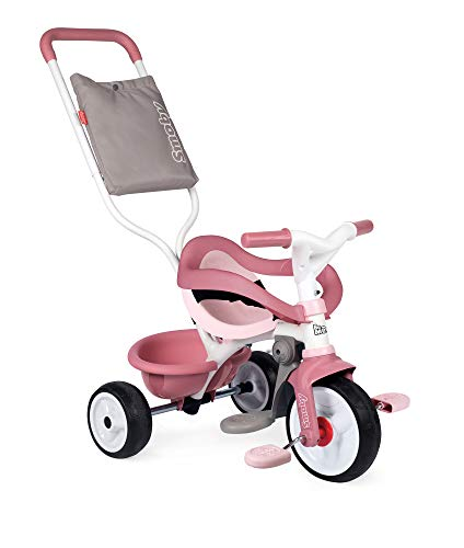 Smoby- Triciclo Be Move Confort Rosa (740415), Color
