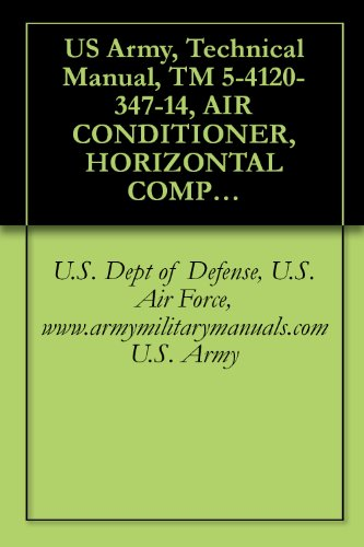 US Army, Technical Manual, TM 5-4120-347-14, AIR CONDITIONER, HORIZONTAL COMPACT; 9,0 BTU/HR, 208 V, 3 PHASE, 60 HZ, MODEL F9000H-3, military manuals (English Edition)