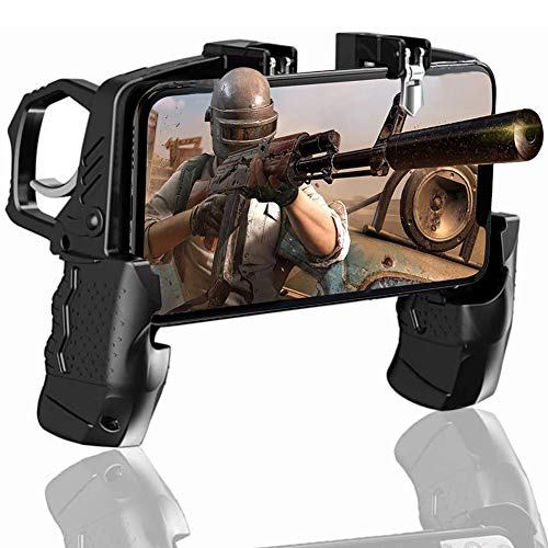 BESTZY PUBG Mobile Game Controller - Mando Joystick Movil Gamepad Gatillos para Movil PUBG, Controlador Móvil para Android y iOS de 4.7 a 6.5 Pulgadas