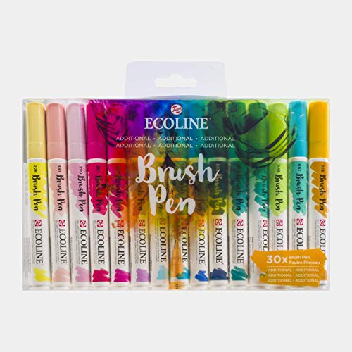 Ecoline Brush Pen Set of 30, Additional colors (11509006)
